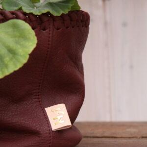 Krukpåse Pelargonium vinröd